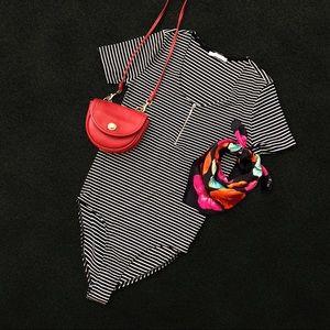 🖤 Zara Bodysuit w/ Bust Zipper